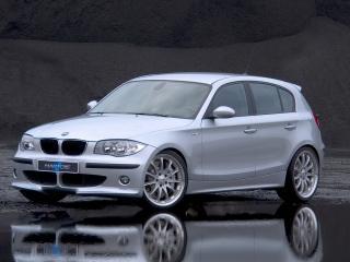 обои BMW hartge h1 вид в полете скорости фото