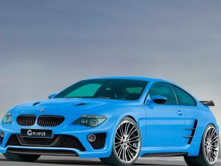 обои BMW M6 G power вид немного с верху фото