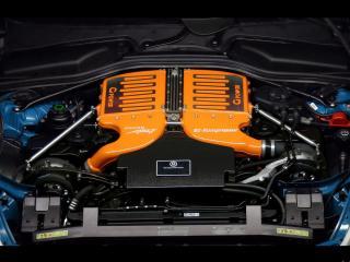 обои BMW M6 G power вид со стороны двигателя фото