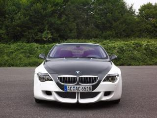 обои BMW_6-tension вид спереди_ фото