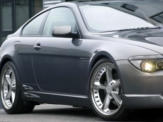 обои BMW_645Ci вид немного с верху фото