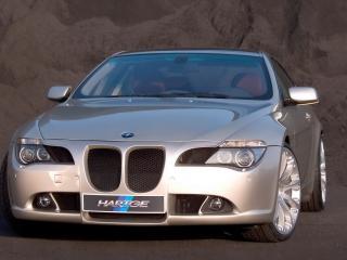 обои BMW_645Ci_HARTGE вид спереди_ фото