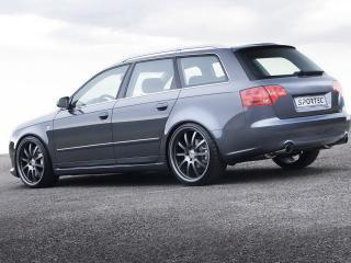 обои Audi A4 sportes бочком фото