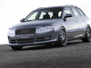 обои Audi A4 вид под углом к камере фото