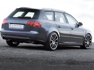 обои Audi A4 вид с другого ракурса фото
