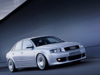 обои Audi A4 sporttec вид в салоне фото