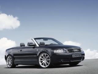 обои Audi A4 spoertec front вид под наклоном фото