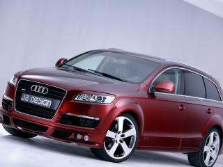 обои Audi Q7 JE DESIGN вид в салоне фото