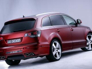 обои Audi Q7 JE DESIGN вид с другого ракурса фото