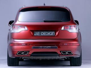 обои Audi Q7 JE DESIGN вид сзади_ фото