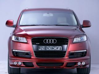 обои Audi Q7 JE DESIGN вид спереди_ фото