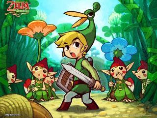 обои для рабочего стола: The Legend of Zelda Minish Cap