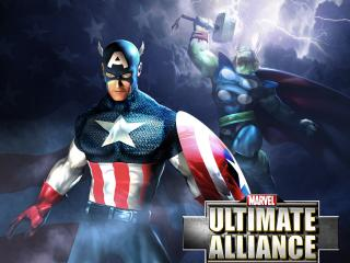 обои Marvel Ultimate Alliance Capthor фото