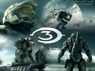 обои Halo 3 Finish the Fight фото