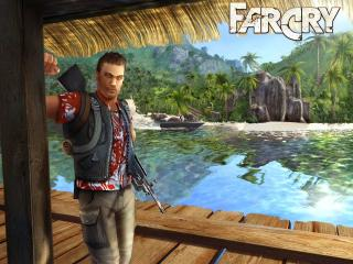 обои Far Cry Jack Carver фото