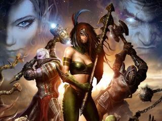 обои Legends of Norrath Oathbound фото