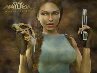 обои Tomb Raider Anniversary фото