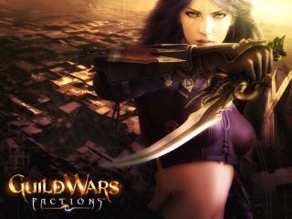 обои Guild Wars Factions 2006 Assassin фото
