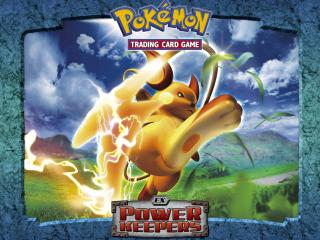 обои Pokemon Trading Card Game EX Power Keepers фото
