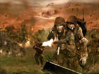 обои Brothers in Arms Earned in Blood фото