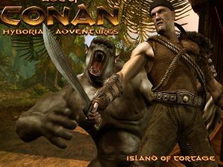 обои Age of Conan Hyborian Adventures Tortage Island фото