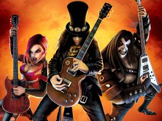 обои Guitar Hero III Legends of Rock фото