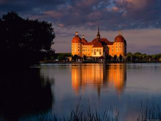 обои Moritzburg Castle. Germany фото