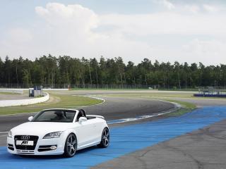 обои Audi TT ABT вид  со стороны света фото