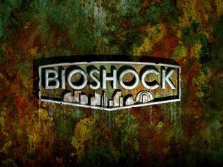 обои Games Bioshock логотип фото