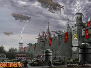 обои Games C C Red Alert 3 фото