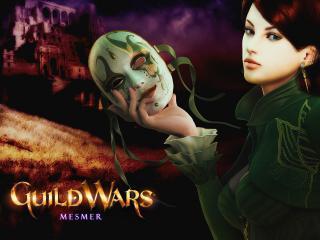 обои Guild Wars,   Mesmer Close-up фото