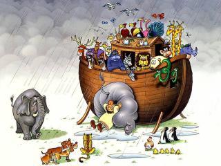 обои Великий Ноев ковчег фото