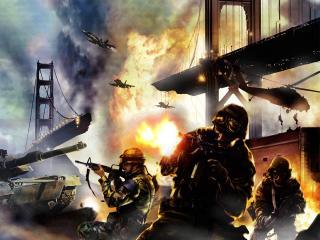 обои Act of War - Direct Action фото