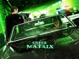обои Enter the Matrix фото