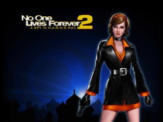 обои No One Lives Forever фото