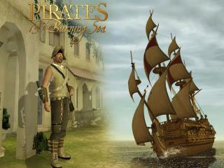 обои Pirates of the Burning Sea фото