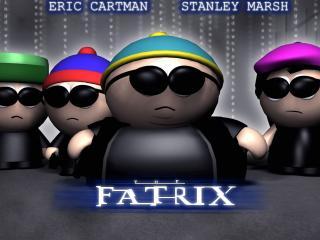 обои The Fatrix (South Park Matrix) фото