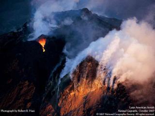 обои Вулкан Пасаи в Гватемале фото