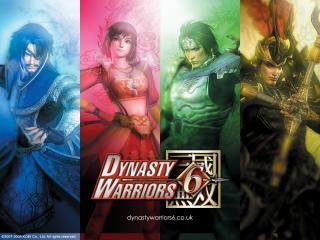 обои Главные герои игры Dinasty Warriors 6 фото