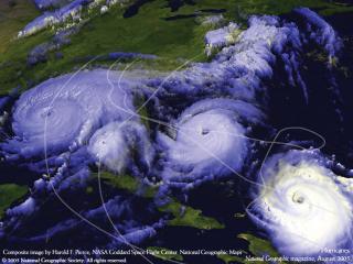 обои Вид ураганов со спутника фото