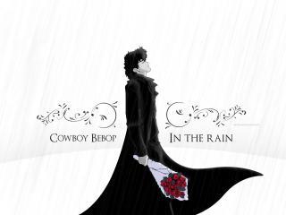 обои Cowboy BeBop - In The Rain,   Anime фото