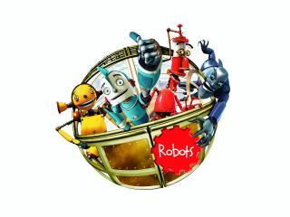 обои Robots Animated Movie Characters фото