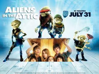 обои Aliens in the Attic,   2009 фото