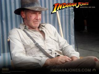 обои Indiana Jones 4,   2008,   Harrison Ford фото