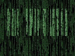 обои The Matrix,   1999,   Green Falling Code фото