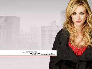 обои Cashmere Mafia (TV Series),   2008,   Bonnie Somerville as Caitlin фото