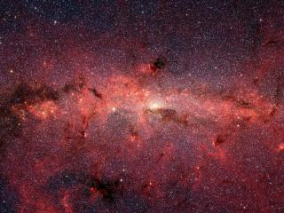 обои Stars at the Galactic Center,   Milky Way Galaxy фото