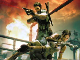 обои Resident evil 5 game фото