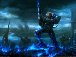 обои Game Halo wars фото