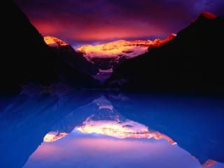 обои Отражение неба фото